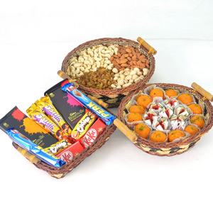 Chocolates, Sweets And Dry Fruits