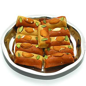 Haldiram Mewa Roll Sweets