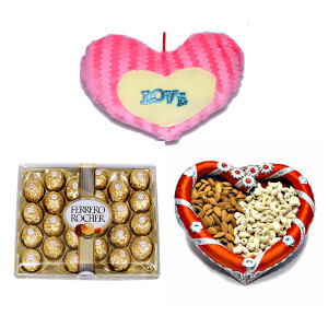 Send Love With Chocolates & Dryfruits