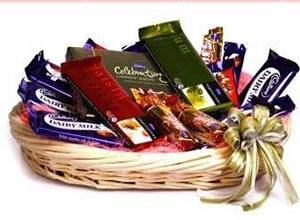 Chocolates Few Basket