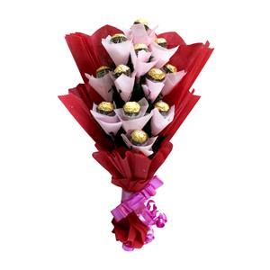 Exclusive bouquet of Ferrero Rocher