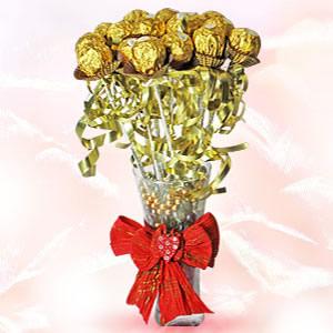 Rocher in Vase