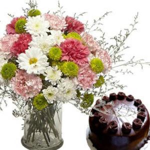 Flower Vase n Cake