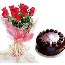 Kookie Jar cake & Flowers I
