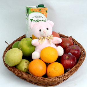 Juicy Treat with Soft Toy