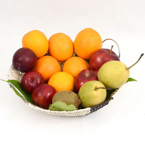 Healthy and Delicious Fruit Basket