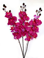 Artificial Purple Orchids
