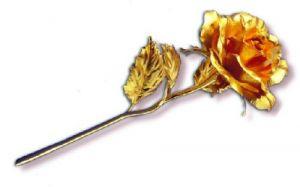 Artificial Golden Roses