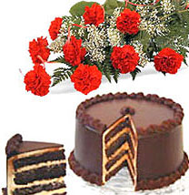 Cake & Carnations