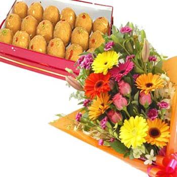 Flowers n Ladoo