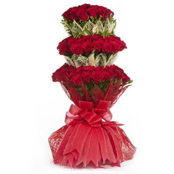 Roses Three Tier