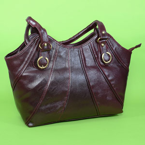 Cherry Brown Fashionable Bag