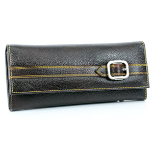 Black Purse With Buckle