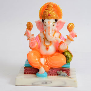 Marble Dust Adorable Ganesha