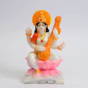 Gracious Saraswati Showpiece