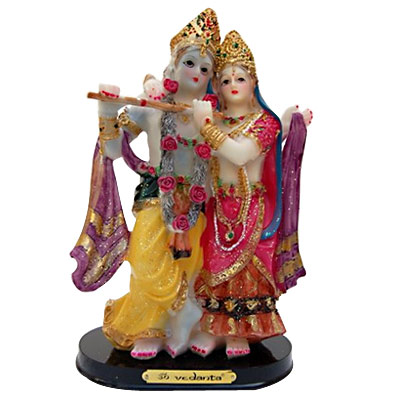 Radha and Krishna Sculpture
