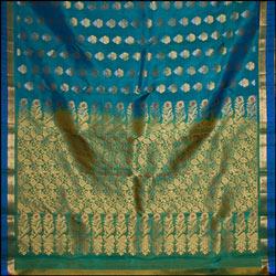 Ramagreen color kanjeevaram silk saree