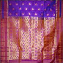 Majenta and Pink color Soft silk Saree
