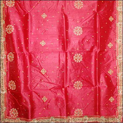 Maroon Pure silk saree