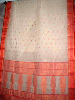 Bengali Tant Saree