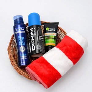 Handsome Men's Hamper