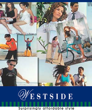 West Side Gift Vouchers Rs 3000/-