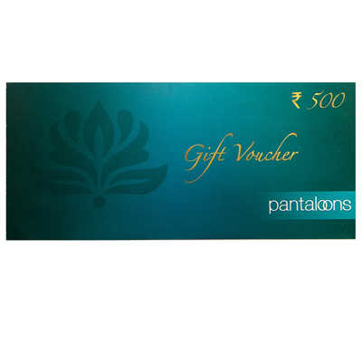 Pantaloons Gift Vouchers Rs 2500/-