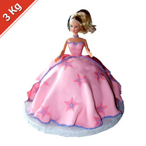 Barbie Cake - 3 Kgs
